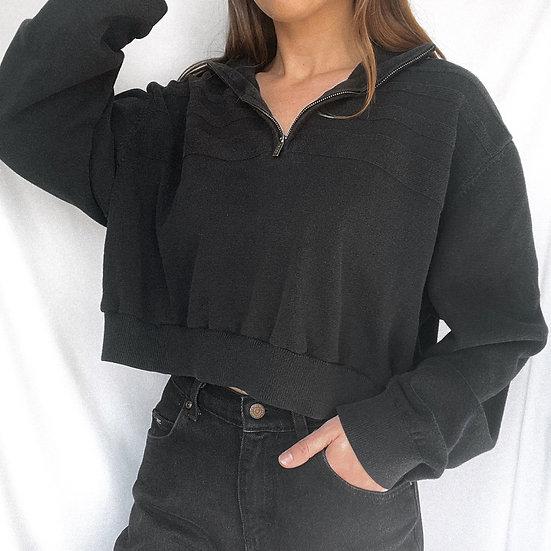 Knit Crop Sweater (XL)