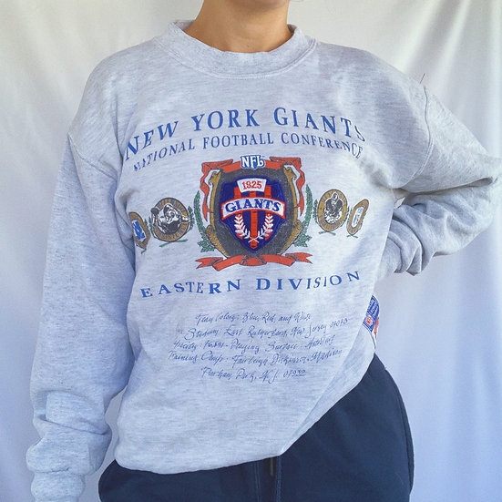 Retro NY Giants Crew (L)
