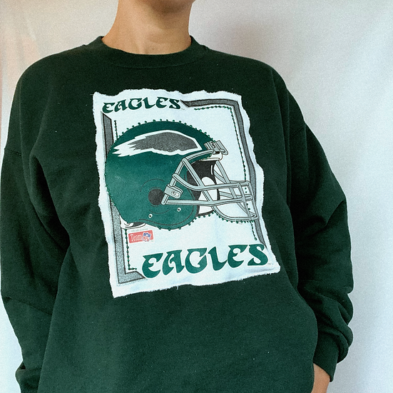 Eagles Bling Patch Crew (M/L)