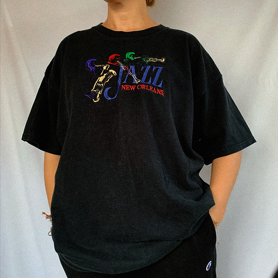 New Orleans Embroidered Tee (2XL)