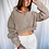 Thumbnail: Ribbed Crop Sweater (L)