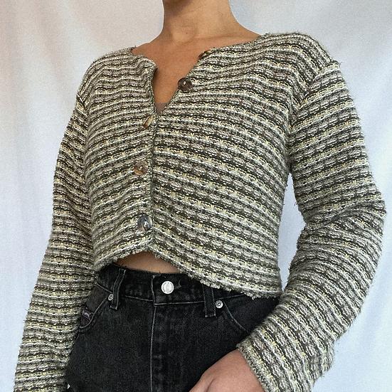 Earth Knit Crop Sweater (M)