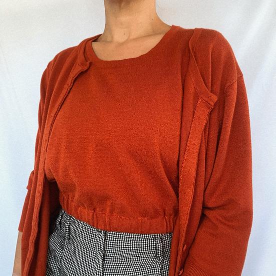 Crop Sweater Set (M)