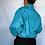 Thumbnail: 80's Turquoise Windbreaker (S)