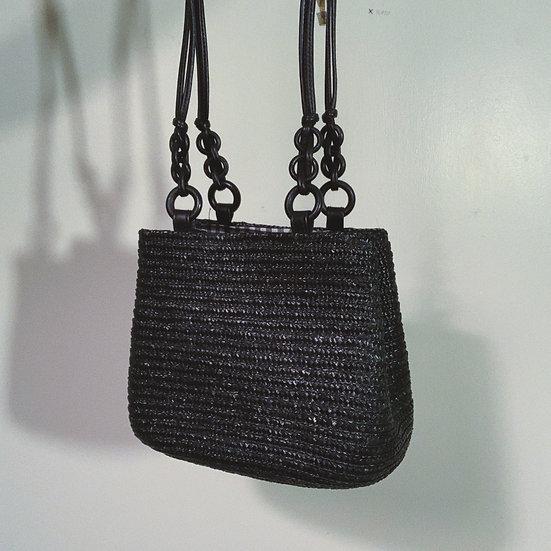 Boho Straw Shoulder Bag