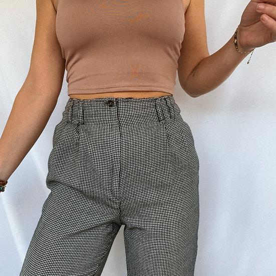 Vintage Gingham Pants (S)