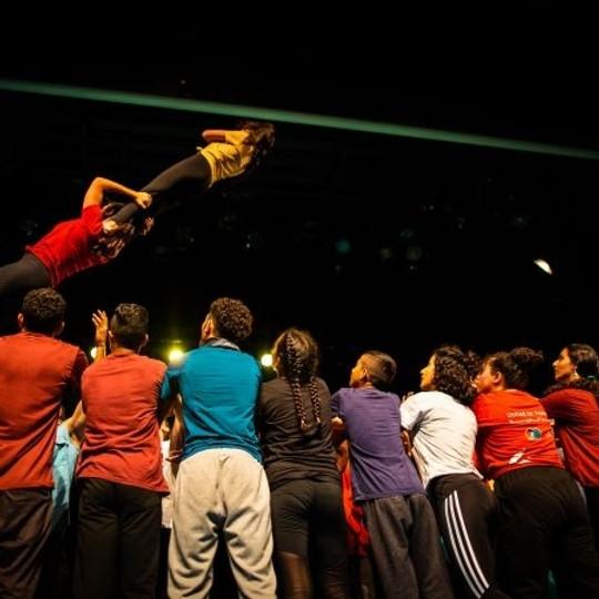 Asimo   École de cirque de Palestine