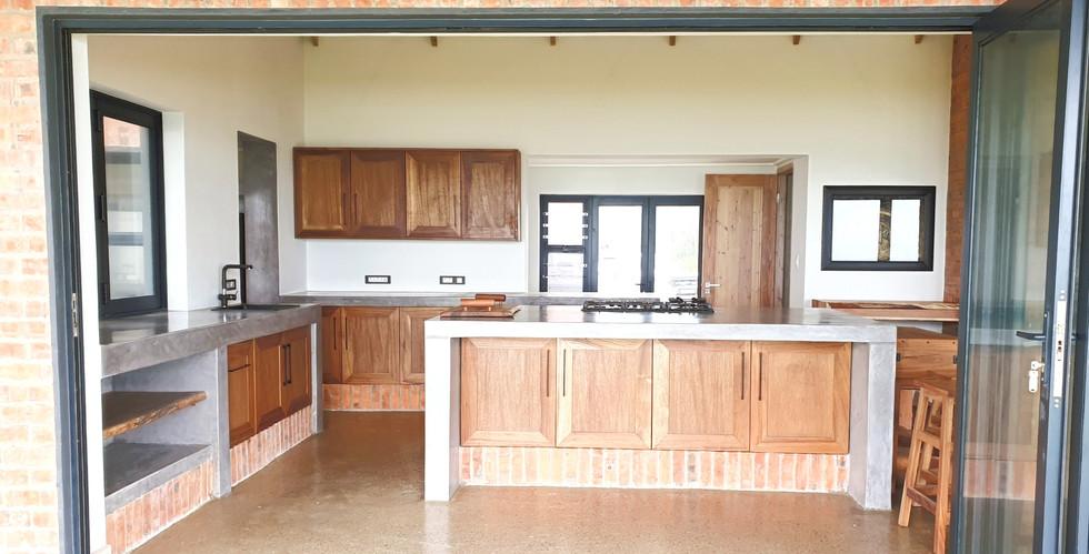 kitchen from deck