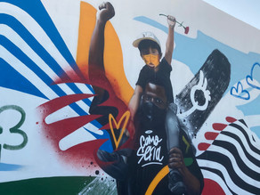 The Message of Hope in Quarteira's newest Graffiti Murals