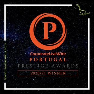Empresa de Tradução do Ano - Portugal 2020/2021
