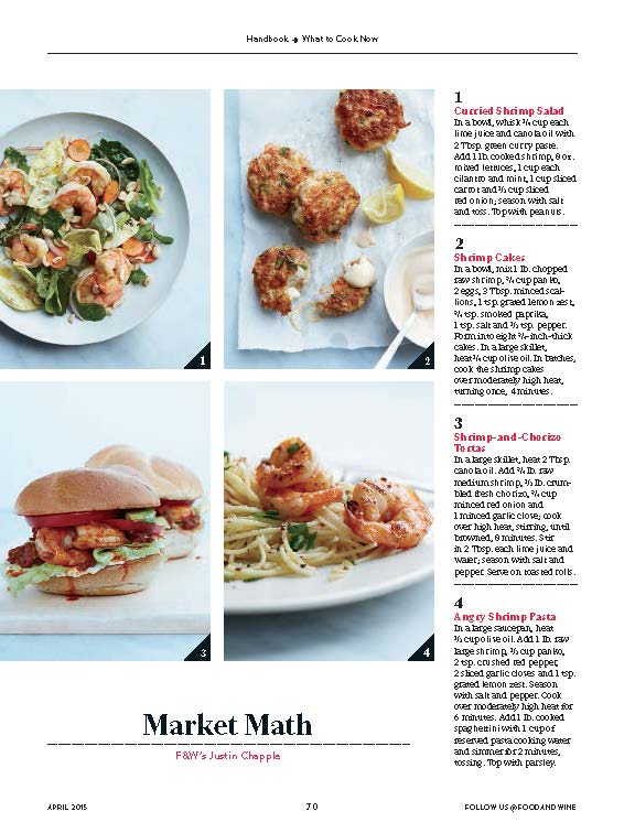 Food & Wine, April 2015