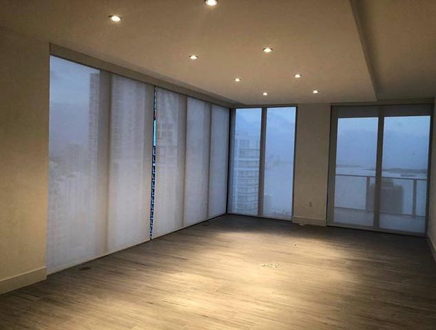 Flooring, Window Treatment, Drop ceiling