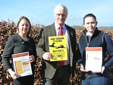 Graham Stuart MP pushes for hare coursing to be top of agenda across Government departments