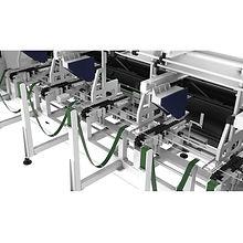 tm65 fiber lézervágó automata adagoló és betöltő rendszere közelnézetben