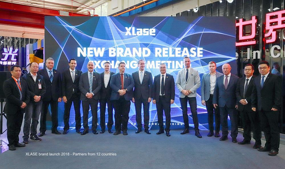 XLASE márka elindítása 2018 - Xlase partnerek 12 országból
