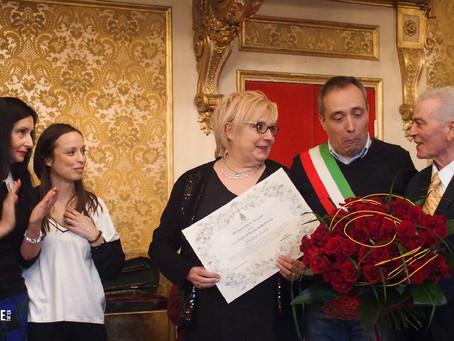 """8 Marzo 2019, Premio """"Onore al Merito delle Donne"""" - per Giuliana Araldi di Tempo Giovane Hairspa"""