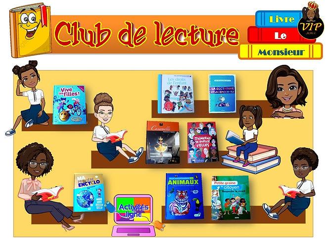 Club de Lecture VIP - Mr le Livre - MMCL