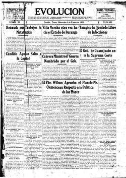 Evolución. enero 1, 1919