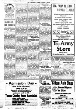 El Tucsonense. febrero 13, 1923