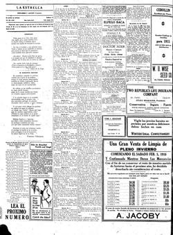 La Estrella, 28 de marzo de 1916