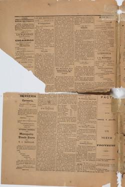 Las Dos Repúblicas 26 de agosto 1877