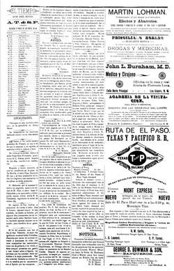 El Tiempo. febrero 20, 1904