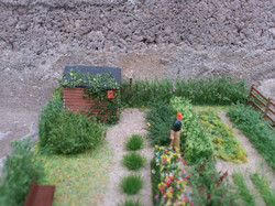 OO/HO Building Site and Allotment Di