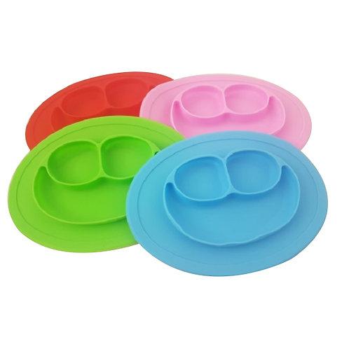 Silicone feeding plate