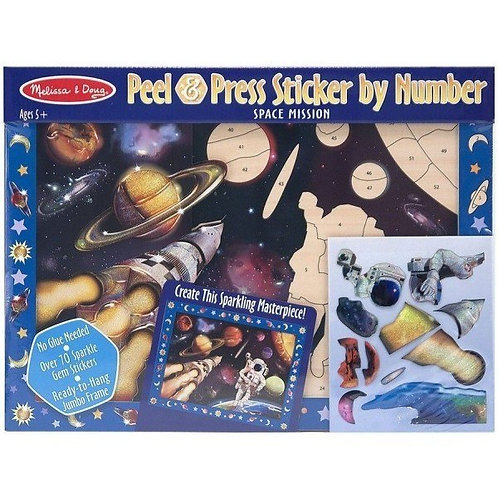 Peel and press stickers