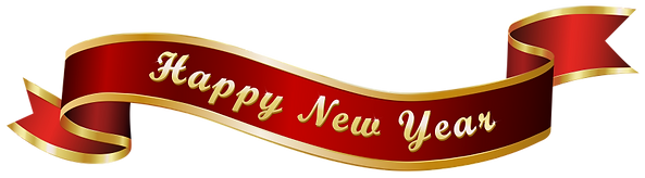 Happy_New_Year_Red_Banner_Transparent_PN
