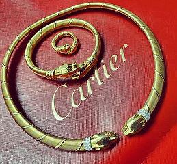 A purrrty rare find! 🐆 Vintage  CARTIER