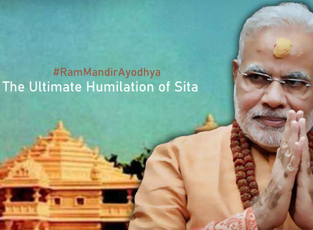 #RamMandirAyodhya | The Ultimate Humiliation of Sita