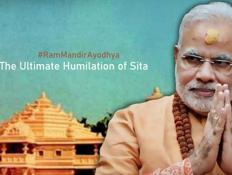 #RamMandirAyodhya | The Ultimate Humiliation of Sita