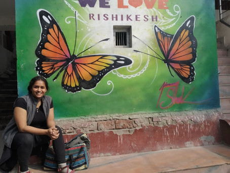 A journey into the seat of Consciousness : Rishikesh