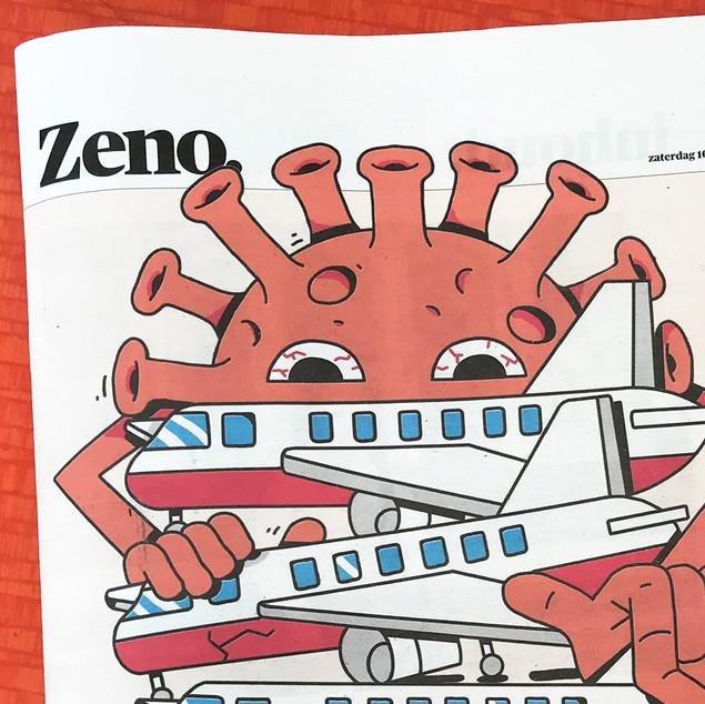 Zeno magazine  | Cover