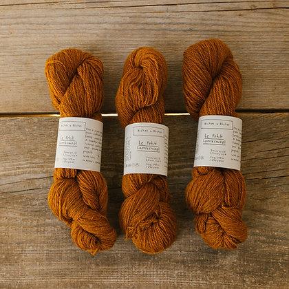 soft orange brown