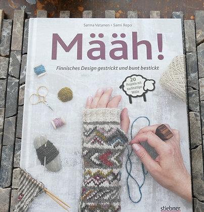 Määh! Finnisches Design gestrickt und bunt bestickt