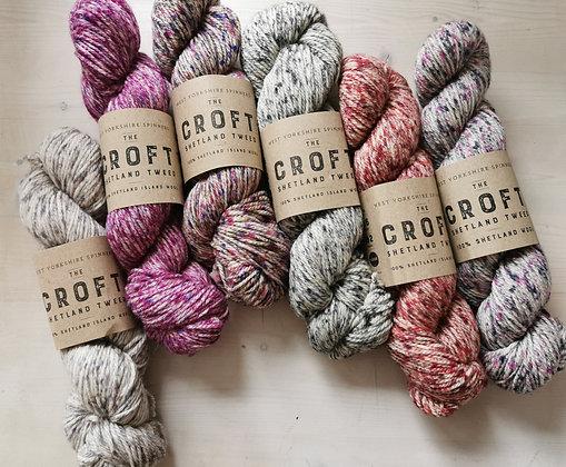 The Croft - Shetland Tweed Aran