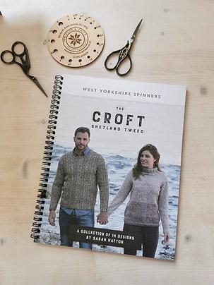 The Croft - Shetland Tweed Aran Pattern Book