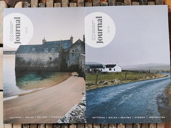 Shetland Wool Adventures Vol. 1 & Vol. 2 - bundle