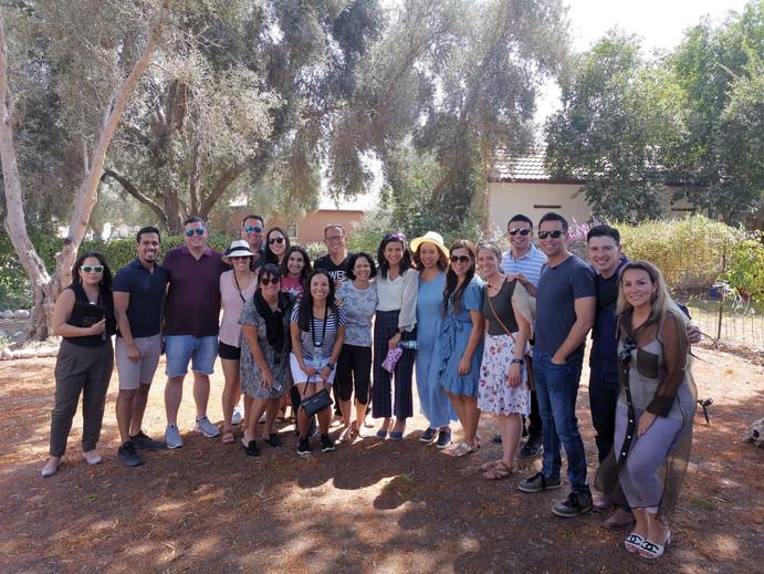 משלחת מנהיגים לטיניים מארה״ב