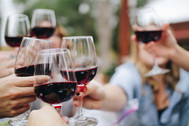 טעימות יין ביקב ביתי בעוטף עזה