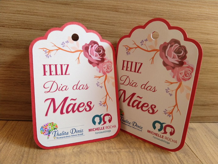 Tag Dia das Mães personalizada