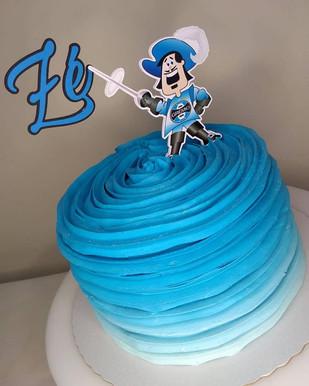 Topo de bolo Grêmio personalizado
