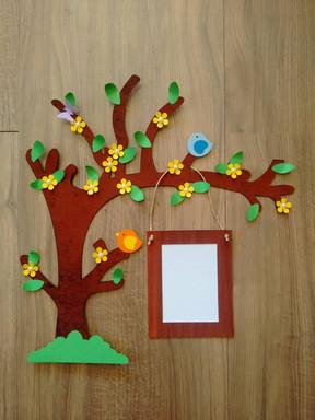 Enfeite árvore para porta