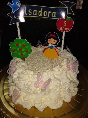 Topo de bolo personalizado