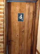 Placa para banheiro feminino