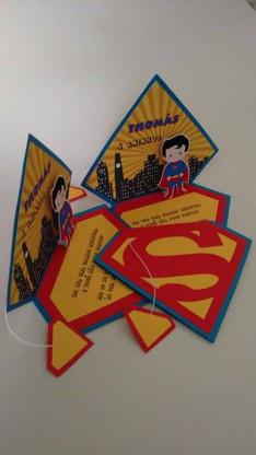 Convite Super Homem