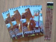 Kit bloco com lápis personalizado