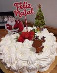 Topo de bolo natalino